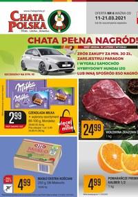 Gazetka promocyjna Chata Polska - Chata Polska pełna nagród - ważna do 21-03-2021
