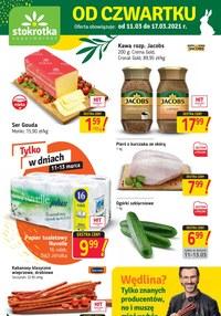 Gazetka promocyjna Stokrotka Supermarket - Od czwartku w Stokrotka Supermarket - ważna do 17-03-2021