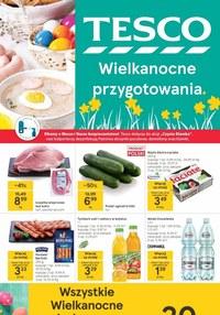 Gazetka promocyjna Tesco Centra Handlowe - Wielkanocne przygotowania z Tesco - ważna do 24-03-2021