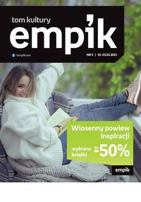 Gazetka promocyjna EMPiK - Tom kultury Empik - ważna do 23-03-2021