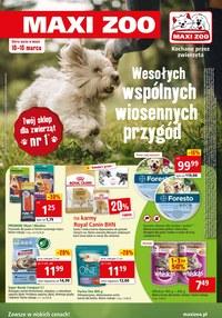 Gazetka promocyjna Maxi ZOO - Wiosenne przygody z Maxi Zoo - ważna do 16-03-2021