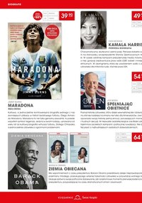 Gazetka promocyjna Księgarnie Świat Książki - Druga ksiażka -50% w Świat Książki!