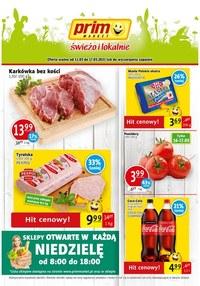 Gazetka promocyjna Prim Market - Świeżo i tanio w Prim Market!  - ważna do 17-03-2021