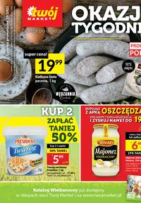 Gazetka promocyjna Twój Market - Okazje tygodnia w Twój Market!   - ważna do 21-03-2021