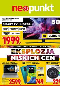 Gazetka promocyjna NEOPUNKT - Eksplozja cen w Neopunkt! - ważna do 23-03-2021