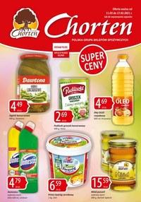 Gazetka promocyjna Chorten - Plakat promocyjny Chorten - ważna do 17-03-2021