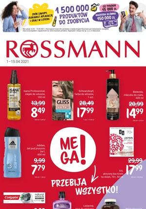 Gazetka promocyjna Rossmann - Mega okazje w Rossmannie!