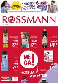 Gazetka promocyjna Rossmann - Mega okazje w Rossmannie!  - ważna do 15-04-2021