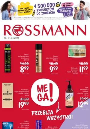 Gazetka promocyjna Rossmann - Rossmann pomaga kobietom!