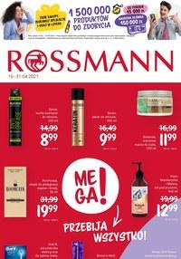 Gazetka promocyjna Rossmann - Rossmann pomaga kobietom!          - ważna do 30-04-2021
