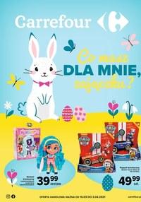 Gazetka promocyjna Carrefour - Zajączek z prezentami w Carrefour    - ważna do 03-04-2021