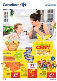Gazetka promocyjna Carrefour - Wielkanocne ceny w Carrefour  - ważna do 22-03-2021