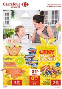 Gazetka promocyjna Carrefour Market - Wielkanocne ceny w Carrefour Market - ważna do 22-03-2021