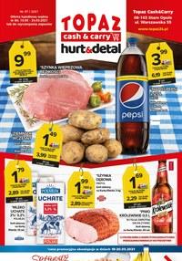 Gazetka promocyjna Topaz - Nowa oferta hurt & detal w sklepach Topaz - ważna do 24-03-2021