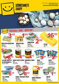 Gazetka promocyjna Uśmiechnięte zakupy - Wielkanoc w sieci Uśmiechnięte Zakupy! - ważna do 03-04-2021