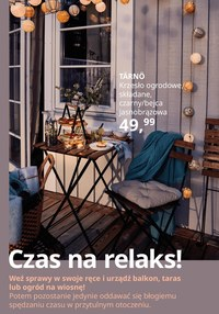 Gazetka promocyjna IKEA - Czas na relaks z Ikea Katowice - ważna do 03-04-2021