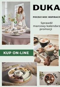 Gazetka promocyjna DUKA - Marcowy kalendarz promocji DUKA  - ważna do 20-03-2021