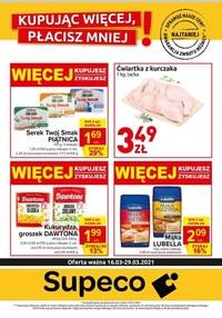Gazetka promocyjna Supeco - Supeco - nowa oferta promocyjna - ważna do 29-03-2021
