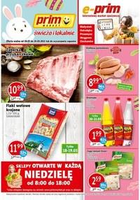 Gazetka promocyjna Prim Market - Króliczek wielkanocny w Prim Market - ważna do 24-03-2021