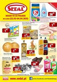 Gazetka promocyjna Sedal - Okazje w sklepach Sedal - ważna do 03-04-2021