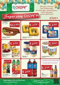 Gazetka promocyjna Delikatesy CEZAR - Wielkanocne promocje w Delikatesach Cezar - ważna do 03-04-2021