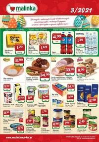 Gazetka promocyjna MALINKA Market - Promocje w sklepach Malinka Market - ważna do 03-04-2021