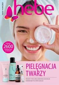 Gazetka promocyjna Hebe - Pielęgnacja twarzy z Hebe! - ważna do 14-04-2021