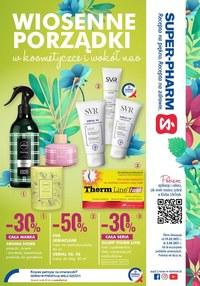 Gazetka promocyjna Super-Pharm - Wiosenna oferta od Super-Pharm - ważna do 03-04-2021