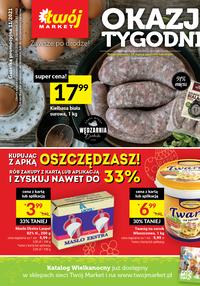 Gazetka promocyjna Twój Market - Okazje tygodnia w Twój Market!   - ważna do 28-03-2021