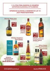 Gazetka promocyjna PSS Bochnia - Oferta alkoholowa PSS Bochnia - ważna do 03-04-2021