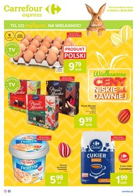 Gazetka promocyjna Carrefour Express - Carrefour Express świąteczne promocje   - ważna do 29-03-2021