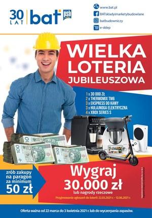 Gazetka promocyjna PSB BAT - Wielka loteria w PSB BAT