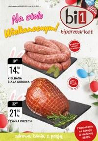 Gazetka promocyjna bi1 - Na stole Wielkanocnym! - ważna do 30-03-2021