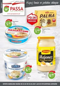 Gazetka promocyjna Passa - Kupuj tanio w polskim sklepie! - ważna do 03-04-2021