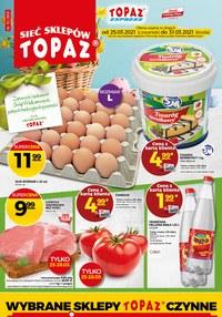 Gazetka promocyjna Topaz - Oferta na Wielkanoc od Topaz - ważna do 31-03-2021