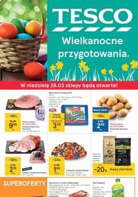 Gazetka promocyjna Tesco Centra Handlowe - Wielkanocne przygotowania z Tesco  - ważna do 03-04-2021