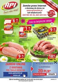 Gazetka promocyjna Api Market - Zawsze udane zakupy w Api Market!  - ważna do 30-03-2021