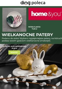 Gazetka promocyjna Home&You - Wielkanocne dodatki w Home&You - ważna do 06-04-2021