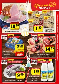 Gazetka promocyjna Gram Market - Czas na promocje w Gram Market! - ważna do 30-03-2021