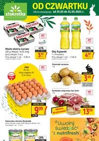 Gazetka promocyjna Stokrotka Supermarket - Uwolnij świeżość ze Stokrotką  - ważna do 31-03-2021