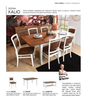 Katalog stołów i krzeseł w Black Red White 2021/22
