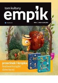 Gazetka promocyjna EMPiK - Tom kultury - Empik - ważna do 13-04-2021