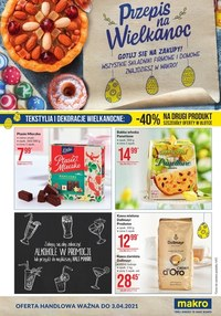 Gazetka promocyjna Makro Cash&Carry - Przepis na Wielkanoc z Makro!  - ważna do 03-04-2021