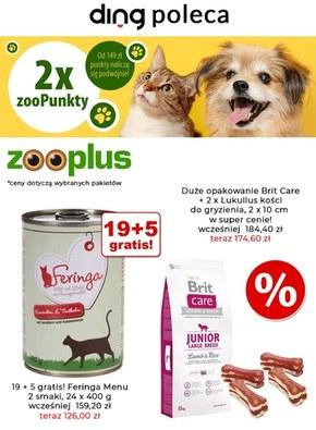 Promocje dla zwierząt w Zooplus