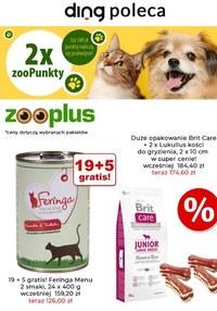 Gazetka promocyjna Zooplus.pl - Promocje dla zwierząt w Zooplus - ważna do 18-04-2021