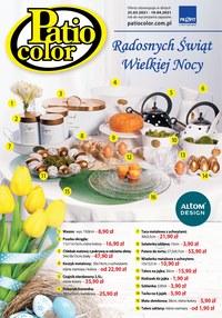 Gazetka promocyjna Patio Color - Radosnych świąt z Patio Color! - ważna do 10-04-2021