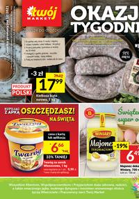 Gazetka promocyjna Twój Market - Okazje tygodnia w Twój Market!   - ważna do 06-04-2021