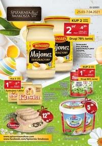 Gazetka promocyjna Spiżarnia Smakosza - Tradycyjny smak w Spiżarni Smakosza - ważna do 07-04-2021