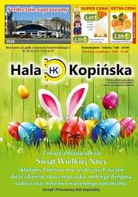 Gazetka promocyjna Hala Kopińska - Wielkanoc w Hali Kopińskiej - ważna do 09-04-2021