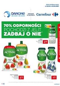 Gazetka promocyjna Carrefour - Danone w Carrefour   - ważna do 03-04-2021